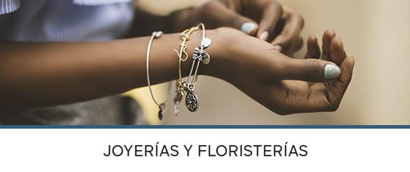 Joyerías y Floristerías